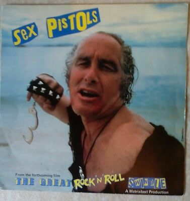 """Sex Pistols - Great Rock And Roll Swindle - My Way Sid Vicious 7"""" Picture cover"""