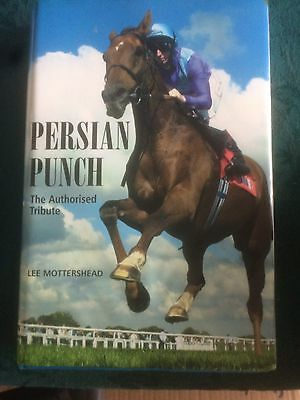 Signed Persian Punch Book