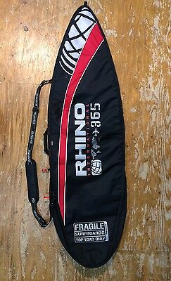 Rhino 5'10-6ft 5mm Surflite Surfboard Bag
