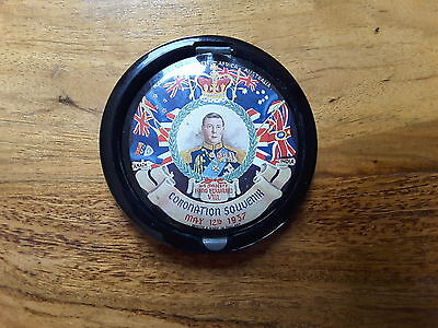 Vintage 1937 Coronation of King Edward VIII Powder Compact