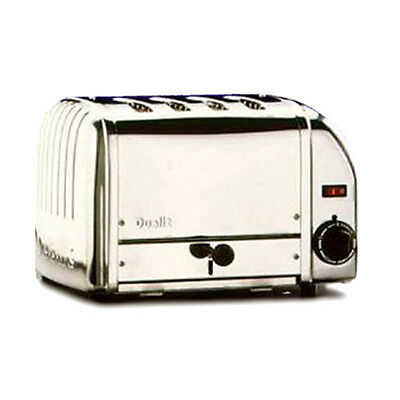 Cadco CTS-4 Stainless Steel Pop-Up Toaster - 120V