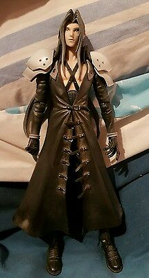 Official Play Arts Final Fantasy Vii 7 Advent Children Sephiroth figure LOOSE