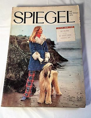 Vintage Spiegel Catalog 1972 Fall Winter Clothing Shoes Curtains Home Toys More!