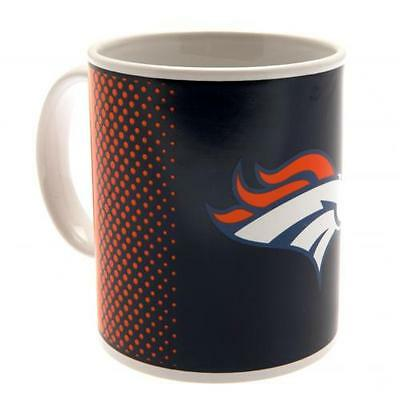 Denver Broncos Mug Cup Fade 11oz Coffee Gift New Official Licensed NFL Product