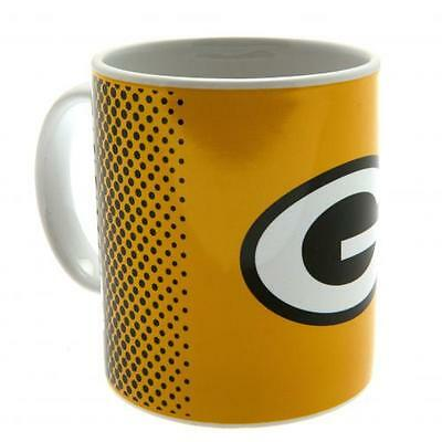 Official Licensed NFL Product Green Bay Packers Mug Cup Fade 11oz Coffee Gift