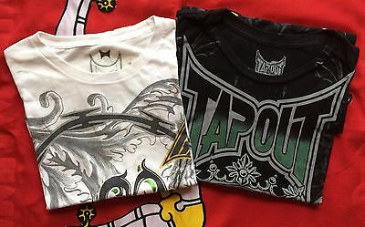 Pair Of Tapout T-Shirts Size Xl