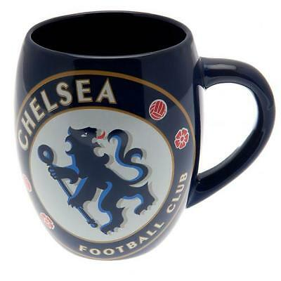 Official Licensed Football Product Chelsea Tea Tub Mug Cup Gift Fun Blue New