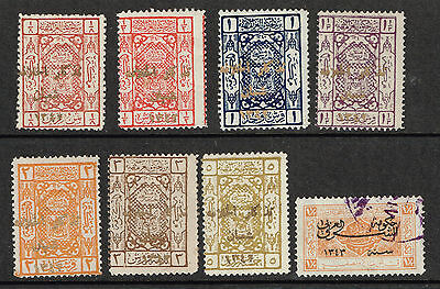 1924 attractive group unused to very fine used, with overprints - valuable group