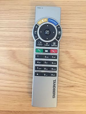 Tandberg TRC 3 Video Conference Remote Control For MXP Systems 3000 6000 770 880