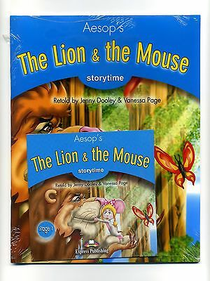 THE LION AND THE MOUSE _ Book Stage 1 _ Libro + CD _ NUEVO