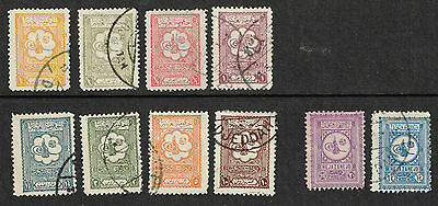 1926 attractive used group, some scarce