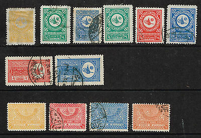 GUERCHE 1926+ attractive used group, some scarce