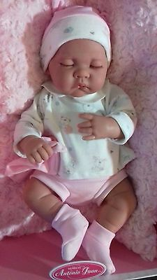 Lovely Sleeping Life Like / Reborn Baby Girl Doll. 18 Ins.