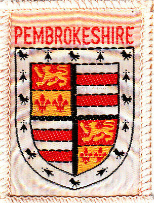 Boy Scout Badge obsolete PEMBROKESHIRE Wales