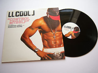 "LL COOL J ft JENNIFER LOPEZ Control Myself 12"" 2006 Def Jam 9854272 jason nevins"