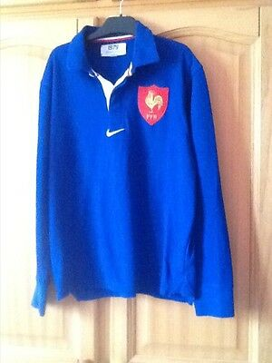Polo de rugby FFF  taille S adulte NIKE
