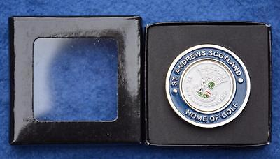 Collectable GOLF MEDALLION & MARKER. St Andrews Scotland OLD COURSE Home of Golf