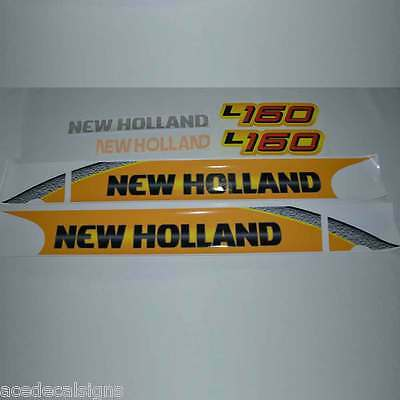 L160 L170 L175 L180 L185 L190 New Holland Skid Steer loader New Repro decal Kit