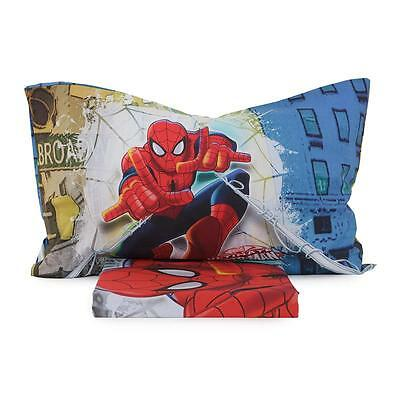 Parure copripiumino Spiderman Art. Broadway Marvel Caleffi Singolo Q298