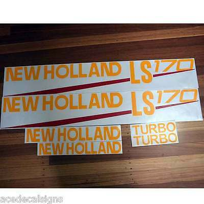 ANY MODEL LS160 LS170 LS180 LS185 LS190 New Holland Skid loader decals stickers