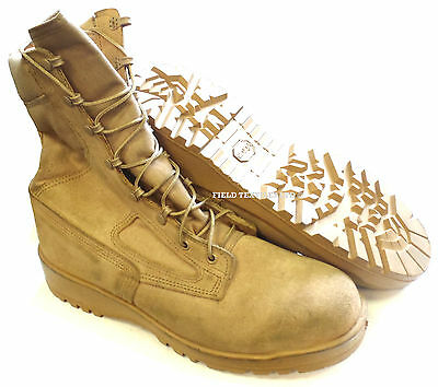 British Army - Belleville Desert Boots - Us 11 Regular - Sn2689