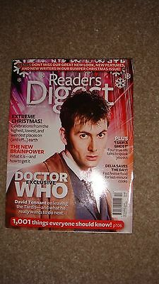 Rare and Hard to Find Readers Digest Doctor Who Cover David Tennant