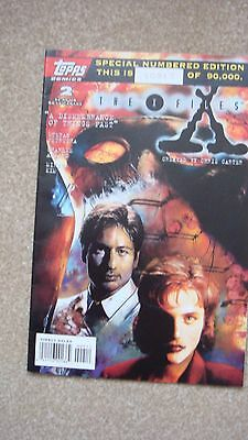 Rare and Hard to Find The X-Files Limited Edition Comic Number 10917