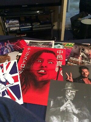 Large Selection Of wrestling posters WWE TNA ROH