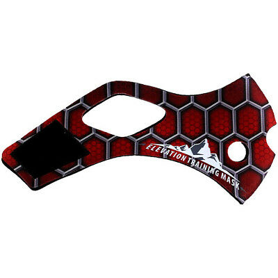 Elevation Training Mask 2.0 Spider Sleeve (Red)