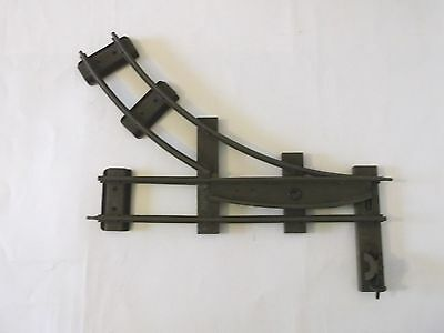 Hornby O gauge 2 rail right hand point - working switch