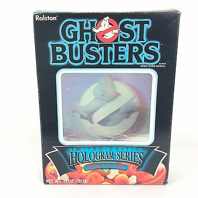 80s Ghostbusters Movie Hologram Series Limited Edition Ralston Empty Cereal Box