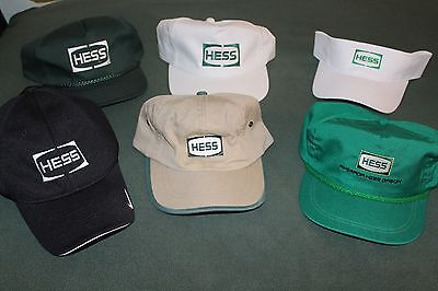 Hess Hat Collection RARE 5 Hats & 1 Visor Brand New