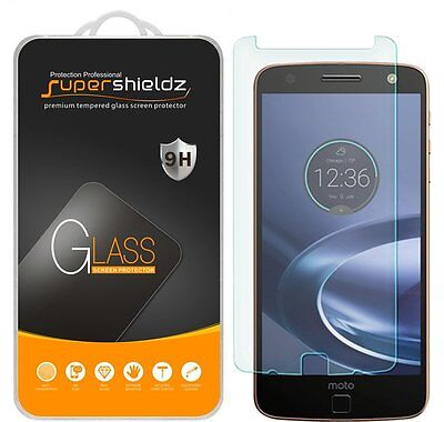 3X Supershieldz for Motorola Moto Z Force Droid Tempered Glass Screen Protector