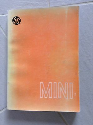 Leyland Mini workshop Manual AKD 4935 (9th edition) 1976 Covers all Mini models