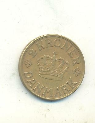 Very Nice Rare.denmark Two Kroner.1939.very Collectable.t.48