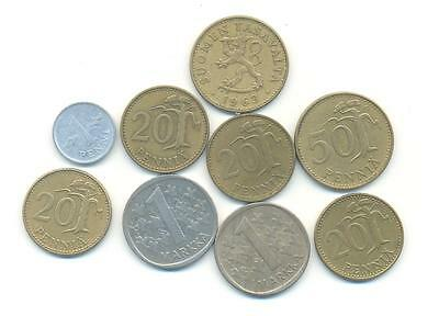 Very Nice Rare.mixed Lot Of Finland Coins.very Collectable.z.114