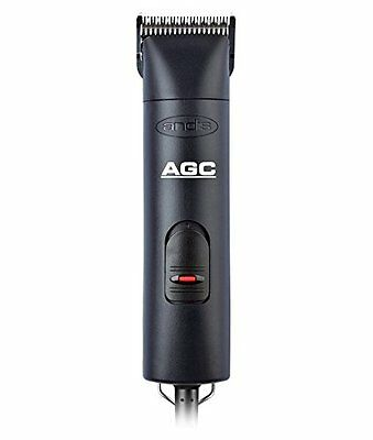 Andis AGC 1-Speed Detachable Blade Clipper Kit, Professional Dog/Pet Grooming