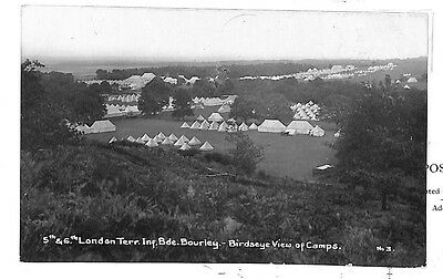 BD80 1912 GB Military Hampshire Fine RP Card Postcard {samwells-covers}PTS