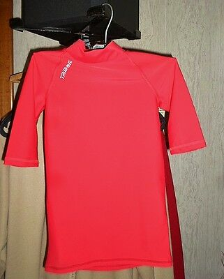 maillot de foot rouge taille 10 ans