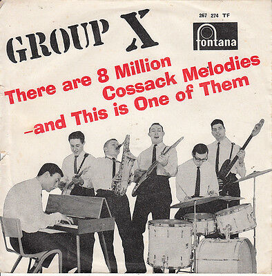 Group X 1963 Ps *there Are 8 Million..* Surf Rock & Roll