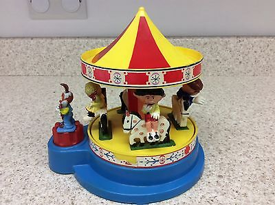 CORGI Magic Roundabout Carousel 1970's: Vintage with Figures in working order