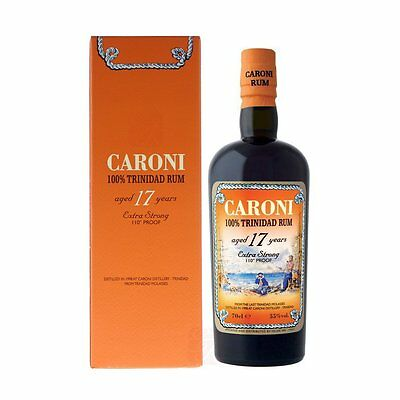 Rhum CARONI 17 ans Limited Edition - Rare - Sold Out