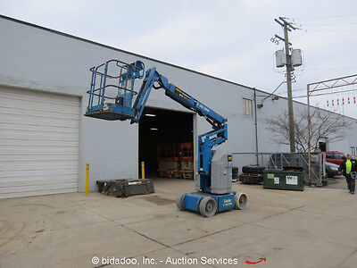2006 Genie Z-30/20N 30' Electric Articulating Boom Lift Man Aerial Platform