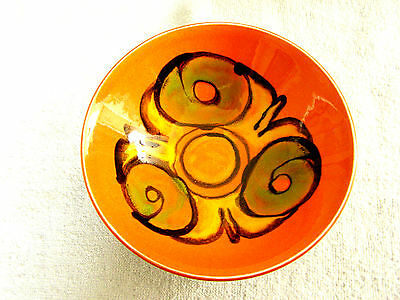 """Mid Century Modern Poole Pottery DELPHIS 6-1/4"""" BOWL"""