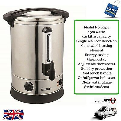 Hot Water Urn 9.3 Litre Catering Cafe Restaurant 9.3L 1500W