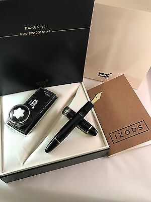 Montblanc Meisterstuck 149 Fountain Pen 18k Tri-Tone - Boxed with Paperwork