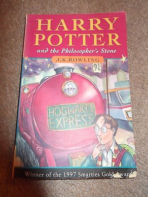 Harry Potter And The Philosophers Stone 1997 First Edition Paperback Book