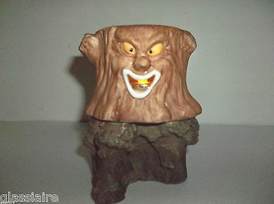 Vintage ENESCO Halloween HAUNTED TREE Candle Holder ANTHROPOMORPHIC With Stand