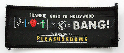 FRANKIE GOES TO HOLLYWOOD 'Pleasuredome' Vintage Woven Patch