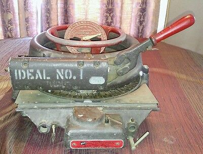 "Ideal No. 1 1"" GG-S-747  Stencil Cutting Machine Press Punch #36490"